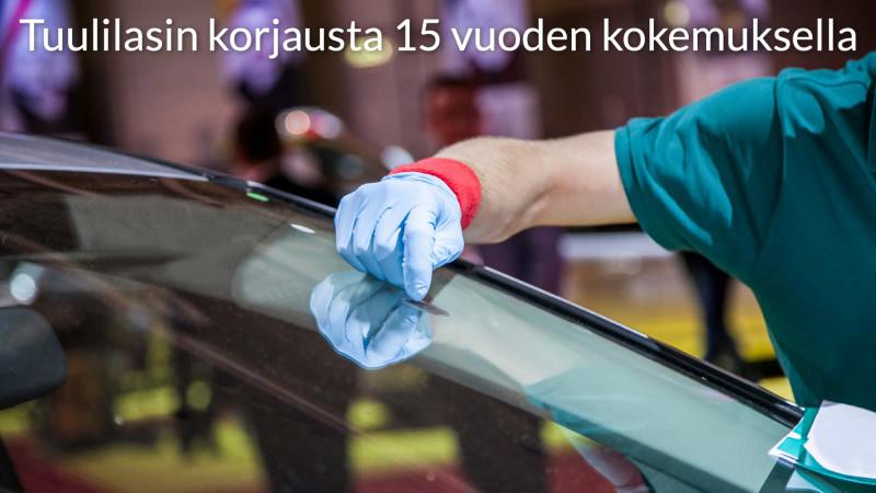 Tuulilasinkorjaus Kuopio